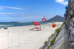 Spiaggia di Moledo un bello giorno soleggiato Fotografia Stock Libera da Diritti