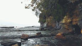 Spiaggia di Mollymook, Nuovo Galles del Sud, Australia Immagine Stock Libera da Diritti