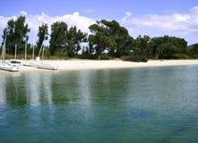 Spiaggia di Mugoni Fotografia Stock Libera da Diritti