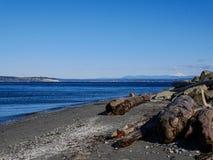 Spiaggia di Mukilteo Fotografia Stock