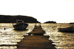 Spiaggia di Nafplio Fotografie Stock Libere da Diritti