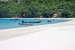 Spiaggia di Nai Pan Yai della cinghia Fotografia Stock Libera da Diritti