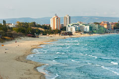 Spiaggia di Nessebar, Bulgaria Immagine Stock Libera da Diritti