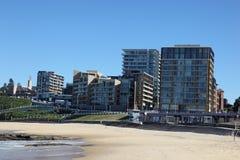 Spiaggia di Newcastle - Australia Immagine Stock Libera da Diritti