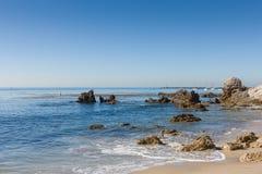 Spiaggia di Newport Fotografie Stock