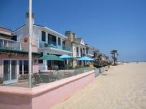 Spiaggia di Newport, California Fotografie Stock Libere da Diritti