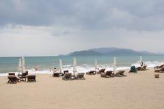 Spiaggia di Nha Trang fotografie stock