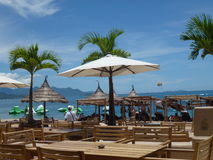 Spiaggia di Nha Trang Fotografia Stock Libera da Diritti