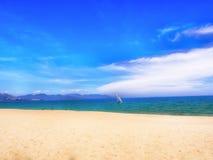Spiaggia di Nhatrang Fotografie Stock