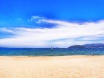 Spiaggia di Nhatrang Fotografia Stock