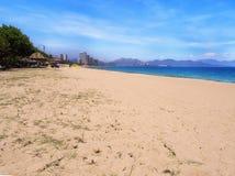 Spiaggia di Nhatrang Fotografie Stock Libere da Diritti