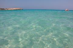 Spiaggia di Nissi Fotografia Stock