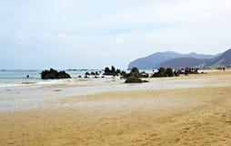 Spiaggia di Noja Immagine Stock Libera da Diritti