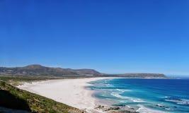 Spiaggia di Noordhoek, Città del Capo, Sudafrica Immagini Stock Libere da Diritti