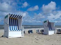 Spiaggia di Norderney Immagine Stock Libera da Diritti