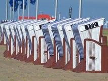 Spiaggia di Norderney Fotografie Stock