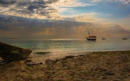 Spiaggia di Nungwi Fotografia Stock