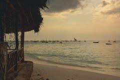Spiaggia di Nungwi Fotografia Stock Libera da Diritti