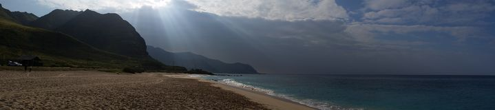 Spiaggia di Oahu Yokohama Fotografie Stock