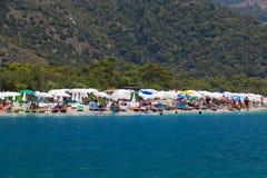 Spiaggia di Oludeniz Immagine Stock Libera da Diritti