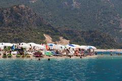 Spiaggia di Oludeniz Immagine Stock
