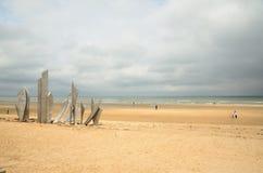 Spiaggia di Omaha Immagine Stock Libera da Diritti