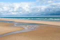 Spiaggia di Omaha, Normandia, Francia Immagini Stock Libere da Diritti