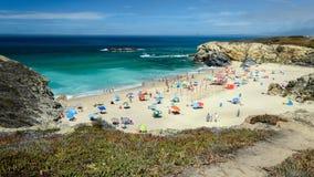 Spiaggia di Oporto Covo Immagini Stock Libere da Diritti