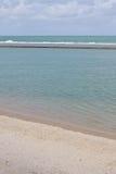 Spiaggia di Oporto de Galinhas immagini stock libere da diritti