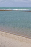 Spiaggia di Oporto de Galinhas fotografie stock