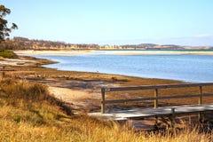 Spiaggia di Orford, Tasmania Immagini Stock