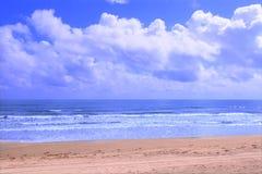 Spiaggia di Ormond - Florida Immagini Stock Libere da Diritti