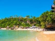 Spiaggia di Padang, Bali Fotografie Stock Libere da Diritti
