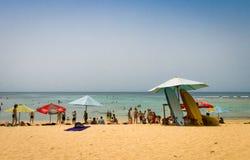 Spiaggia di Padang Padang, Bali Immagini Stock Libere da Diritti