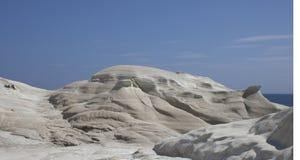 Spiaggia di paesaggio lunare Immagine Stock Libera da Diritti