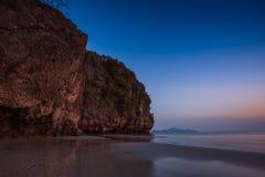 Spiaggia di Pakmang, Sikao, Trang, Tailandia Immagine Stock