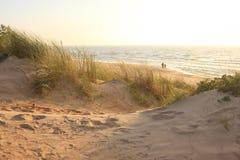 Spiaggia di Palanga Fotografia Stock Libera da Diritti