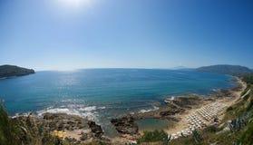 Spiaggia di Palinuro Immagine Stock Libera da Diritti