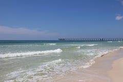 Spiaggia di Panamá, Florida Fotografie Stock