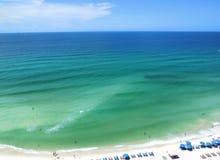 Spiaggia di Panama City Immagini Stock