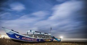 Spiaggia di Pangandaran immagine stock