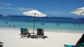 Spiaggia di Panglao Fotografia Stock