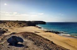 Spiaggia di Papagayo Immagine Stock Libera da Diritti