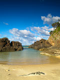Spiaggia di paradiso Immagini Stock Libere da Diritti