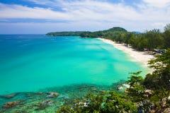 Spiaggia di paradiso alle isole di Surin Fotografia Stock Libera da Diritti
