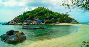 Spiaggia di paradiso di Koh Tao Immagini Stock