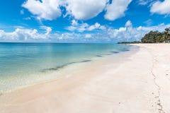 Spiaggia di paradiso di Pemba, Mozambico del nord fotografia stock
