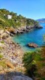 Spiaggia di paradiso sulla Sicilia Fotografia Stock