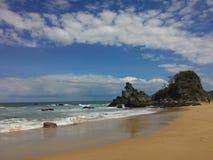 Spiaggia di Parang Kursi immagine stock