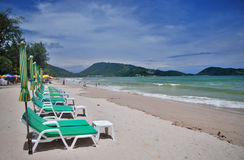 Spiaggia di Patong fotografia stock